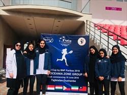 قعر نشینی تیم ملی تنیس بانوان در مسابقات فدکاپ