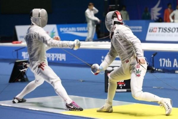 نایب قهرمانی سابریستهای ایران در شمشیربازی آسیا