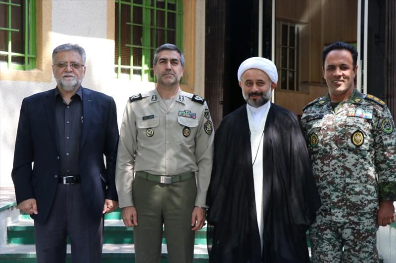 نشست همکاری کمیسیون فرهنگی کمیته و رییس تربیت بدنی ارتش