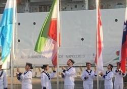 پرچم ایران در دهکده بازیهای دانشجویان جهان برافراشته شد