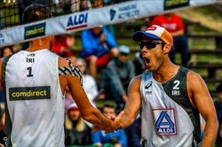 پایان کار ساحلی بازان ایران با شکست برابر نایب قهرمان المپیک