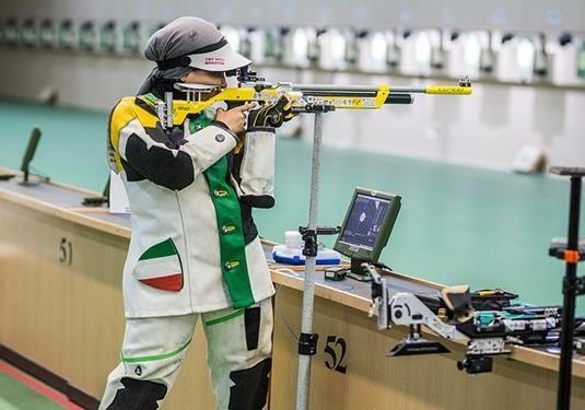 تیم تیراندازی تفنگ زنان ایران در بازی های یونیورسیاد ششم شد