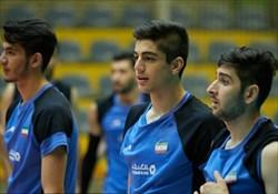 حریفان  والیبالیستهای جوان ایران مشخص شدند