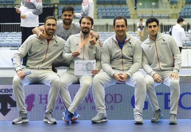 تیم سابر ایران به مقام ششم جهان بسنده کرد
