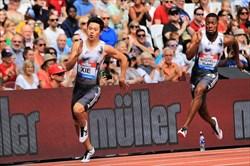 رکورد 200 متر آسیا شکسته شد