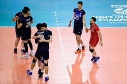 والیبالیست های جوان ایران از سد آرژانتین گذشتند