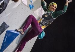 بانوی سنگنوردی ایران سهمیه المپیک ساحلی را کسب کرد