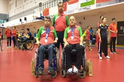 ایران نایب قهرمان مسابقات تنیس روی میز معلولان آسیا شد