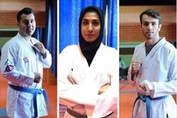 3 سهمیه کاراته کاهای ایرانی برای المپیک 2020