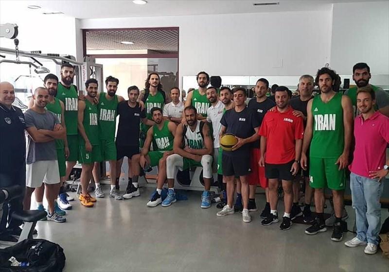 پیروزی تیم ملی بسکتبال ایران مقابل اردن