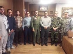 دیدار فرماندهان ارتش با رئیس فدراسیون وزنه برداری