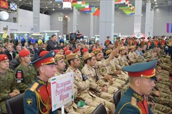 افتتاحیه مسابقات ارتش های جهان با حضور حافظان نظم ایران+ گزارش تصویری