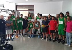 آغاز اردوی تیمملی بسکتبال در یونان