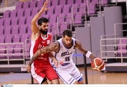 شکست تیم ملی بسکتبال ایران در برابر یونان