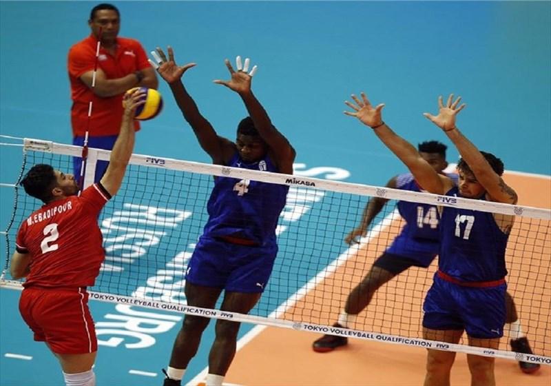 ایران برنده ماراتن والیبال مقابل کوبا