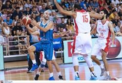 پایان اردوی تدارکاتی تیم ملی بسکتبال در اروپا