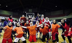نخستین آزمایش بسکتبال بانوان با متشرعی