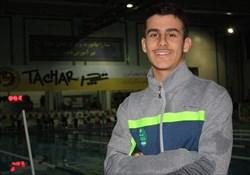 رکورد شکنی شناگر جوان ایرانی در مسابقات قهرمانی جهان