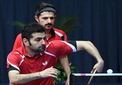 حذف تیم ایران از جدول دو نفره تور جهانی چک
