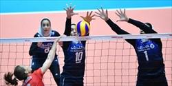 سومین شکست تیم ملی والیبال در رقابت های قهرمانی زنان آسیا
