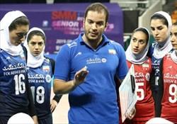 ادامه شکست های تیم ملی والیبال در قهرمانی زنان آسیا