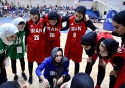 دومین شکست بانوان بسکتبالیست ایران در مسابقات غرب آسیا