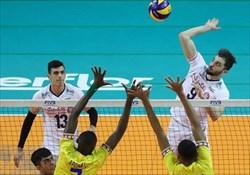پیروزی نوجوانان والیبالیست ایران مقابل کوبا