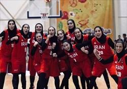 سومین عنوان تاریخی برای بسکتبال زنان ایران