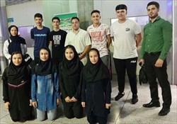 پیروزی دختران و پسران ایرانی مقابل رقبا