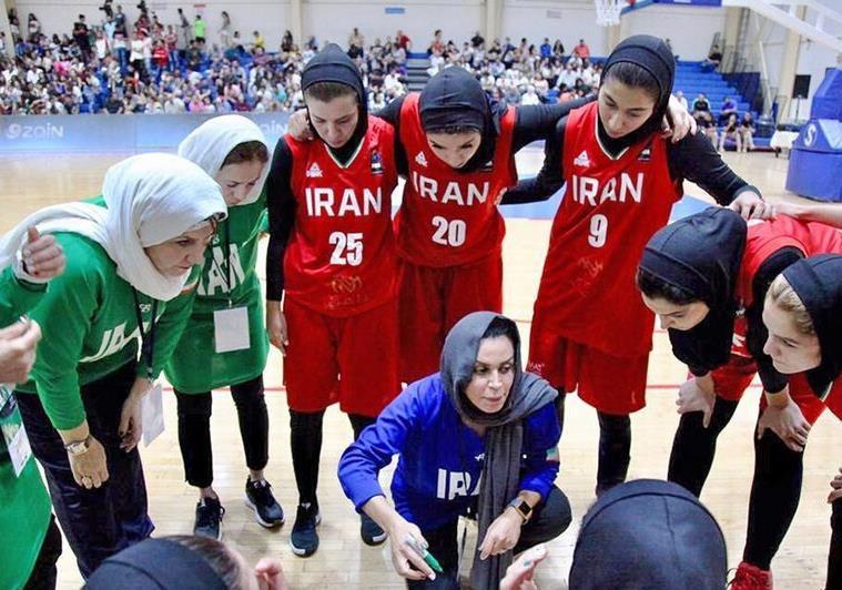 45 سال با تیم ملی بسکتبال زنان ایران