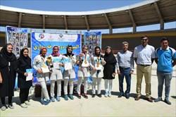 قهرمانی بانوانرکابزن آذربایجان شرقی در المپیاد استعدادهای برتر