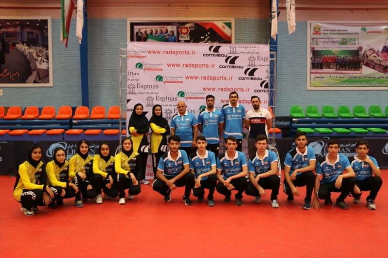 جوانان و نوجوانان تنیس روی میز فردا راهی مغولستان می شوند