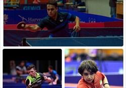 حضور 3 بازیکن ایرانی در جمع  برترین های رنکینگ جهانی تنیس روی میز