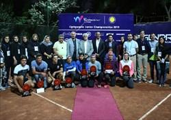 قهرمانی تنیسورهای ایران در مسابقات تور جهانی زیر ١٨ سال