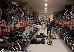 افتتاح بزرگترین پارک دوچرخه جهان در هلند