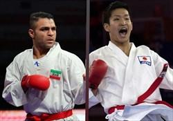مدال نقره سهم کاپیتان تیم ملی کاراته