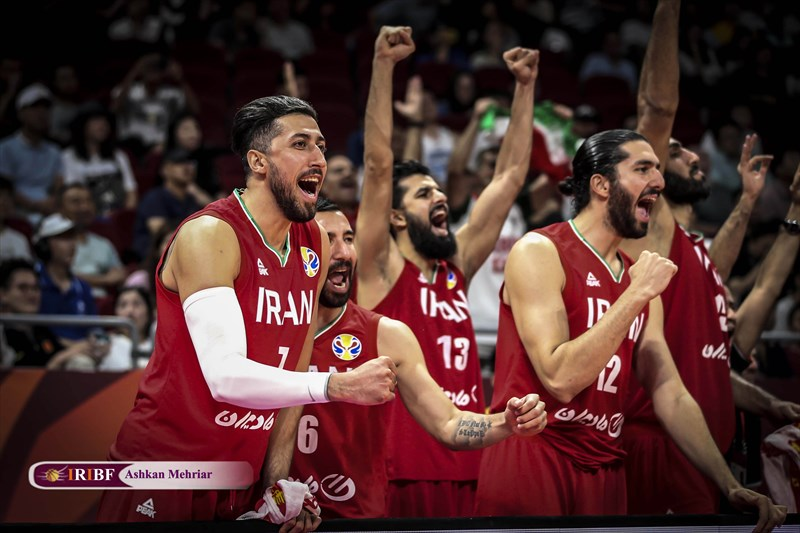 نفس راحت بسکتبال ایران