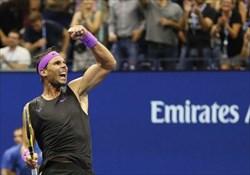 نادال قهرمان تنیس آزاد آمریکا