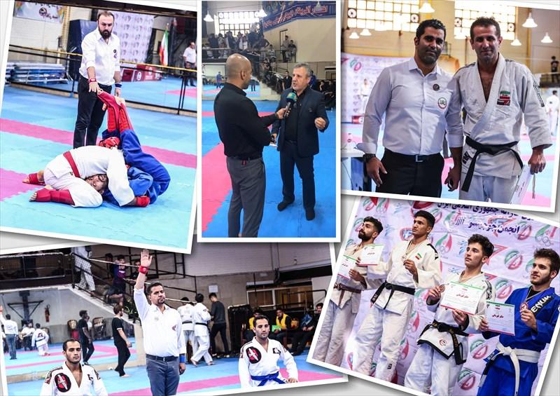 پایان رقابت ۲۳۵ جوجیتسوکار در تاتامی قهرمانی کشور