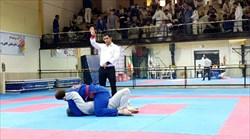 رقابت ۲۳۵ جوجیتسوکار در تاتامی قهرمانی کشور