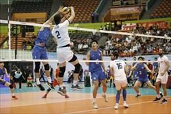 پیروزی تیم والیبال ایران مقابل چین