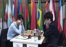 دومین تساوی فیروزجا مقابل بخت نخست قهرمانی جام جهانی شطرنج