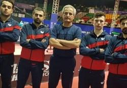 تیم تنیس روی میز ایران هفتم آسیا شد