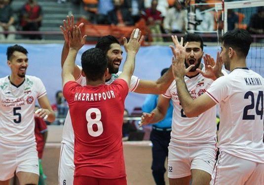 صعود تیم ملی والیبال ایران به فینال قهرمانی آسیا/ استرالیا حریف ایران در فینال