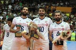 سه بازیکن ایرانی در جمع برترینهای والیبال آسیا