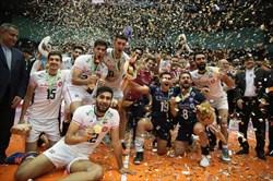 قهرمانی قاطعانه تیم ملی والیبال در آسیا