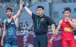 احسان پور به مدال برنز کشتی قهرمانی جهان دست یافت
