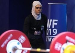پایان کار دومین وزنهبردار دختر ایران در قهرمانی جهان ۲۰۱۹