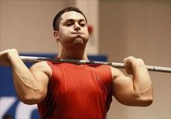 نایب قهرمانی علی میری در مسابقات جهانی وزنه برداری