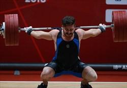 ناکامی بزرگ کیانوش رستمی در رقابتهای وزنه برداری جهان